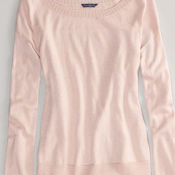 AEO Women's Lace Back Sweater