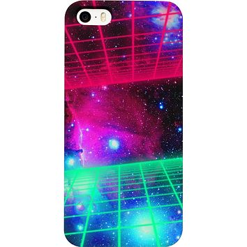 Space Grid Phone Case