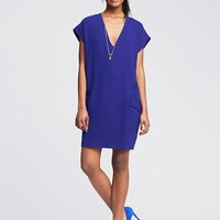 Banana Republic Womens Crepe Cocoon Dress