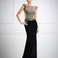 Red Carpet Cut out Black Navy off white Long Prom Dress Evening Wedding Gown