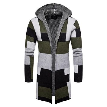 JACKET Men's Cardigan Punk Rock Coat Sweater