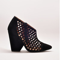 Maris Booties in Black Suede by Jeffrey Campbell | Edge of Urge