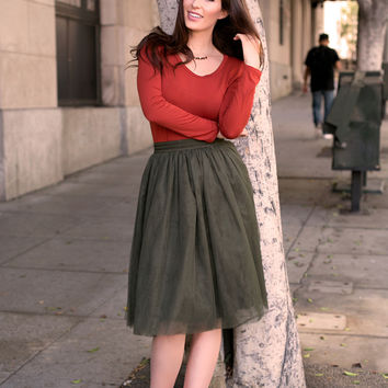 Perfectly Pretty Tulle Skirt