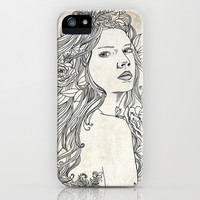 Elven Girl iPhone & iPod Case by Jenndalyn