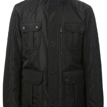 Boss Hugo Boss multipocket zip and press studs fastening jacket
