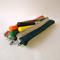 Zip zip pencil case Sewing PATTERN  Back to School Project - Instant Download Pdf