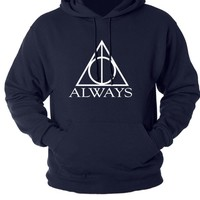 Harry Potter Hoodie Navy Blue Sweat shirt