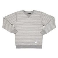 ONLY NY   STORE   Cut & Sew   Striped French Terry Crewneck