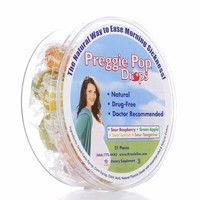 Three Lollies Preggie Pop Drops, Assorted Variety, Ease Morning Sickness - 21 Pieces
