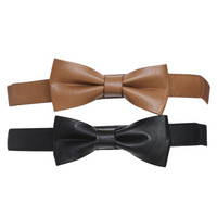 2 Bow Waist Belts | Shop Accessories at Wet Seal