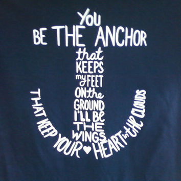 Anchor SHORT SLEEVE t shirt - MayDay Parade