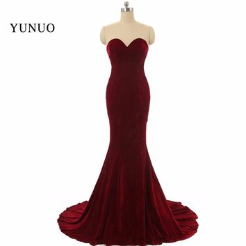 Vestido de festa Mermaid Prom Dresses Long 2017 vestidos de formatura Off The Shoulder robe de bal Formal Evening Party Gowns