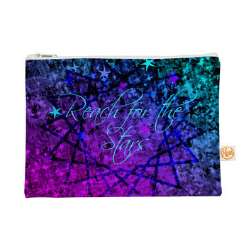 """Ebi Emporium """"Reach For The Stars"""" Pink Teal Everything Bag"""