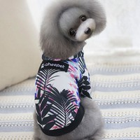 Space Cotton Warm Sweater Pet Dog Clothes For Autumn And Winter Pet Clothing For Small Dog Clothes Winter Jacket For Pet Dog
