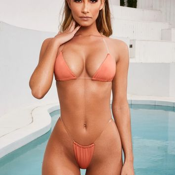 Sexy New Arrival Swimsuit Beach Hot Summer Ladies Swimwear Transparent Hot Sale Bikini [2074194116705]