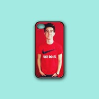 Nash Grier Cute - Print on hard cover for iPhone case and Samsung Galaxy case