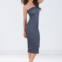 Effortless Jane Denim Bodycon Dress