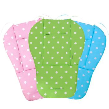 Child Baby Cart Seat Cushion,Breathable Dining Chair Cushion,Strollers Pushchairs Mettress,Baby Kids Carriage Pram Pad Cart Seat