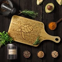 100% Organic Bamboo Cutting Board