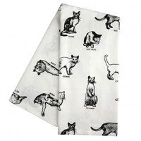 Fishes Eddy Cat Dish Towel