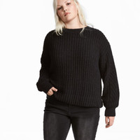 H&M H&M+ Rib-knit Sweater $34.99