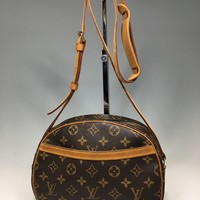 Auth Louis Vuitton Monogram Blois M51221 Women's Shoulder Bag Monogram 6-26