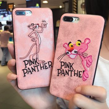 Pink iPhone 8 iPhone 8 Plus - Stylish Cute On Sale Hot Deal Matte Couple Phone Case For iphone 6 6s 6plus 6s plus iPhone 7 iPhone 7 plus