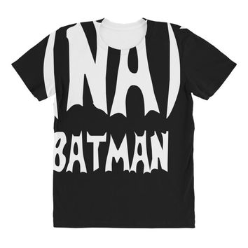 '(na) 16 batman' funny mens funny movie All Over Women's T-shirt