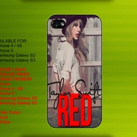 Taylor Swift iPhone 4 / 4S case iPhone 5 case Samsung Galaxy S2 case Samsung Galaxy S3 case