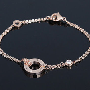 New Arrival Awesome Great Deal Shiny Gift Hot Sale Stylish Hair Accessories Titanium Ladies Chain Birthday Gifts Bracelet [8169876167]