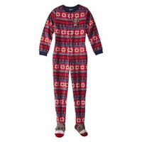 Nick & Nora® Women's Footie Pajama - Red