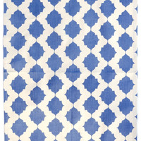 Tile Print Tea Towel