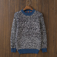 Casual Mens Comfortable Winter Warm Knitwear Sweater