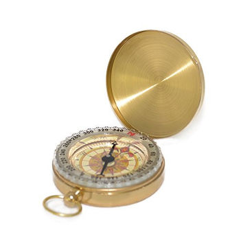 #1 Best Compass | Military Compass | Glow in the Dark Camping Compass | Highest Quality Survival Gear Compass