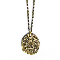 Coin Pendant Necklace - Small