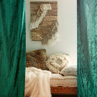 Velvet Tab-Top Window Curtain - Urban Outfitters