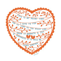 This Is My Heart - Fine Art Print (Large)