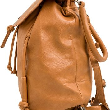 ROXY ROOM MATE FAUX LEATHER BACKPACK