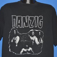 90s Danzig Double Sided Metal Band t-shirt Extra Large