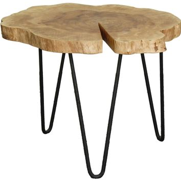 "Tress 20"" Coffee Table Natural Wood"