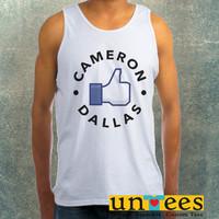 Like Cameron Dallas Clothing Tank Top For Mens