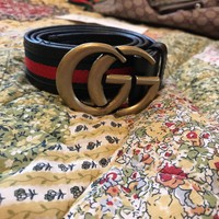 Gucci Belt Double GG Italy designer