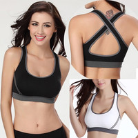 SEXY Womens Padded Bra Top Athletic Vest Gym Fitness Sports Yoga Dance l_f SV003465 = 1932264388
