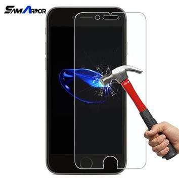 Tempered Glass Cases Coque for iPhone