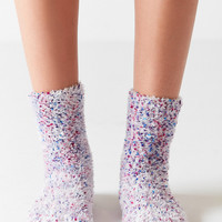 Out From Under Confetti Feather Slipper Sock | Urban Outfitters