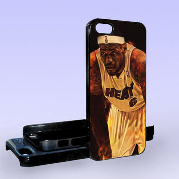 Lebron James NBA MVP 2013 - Print on Hard Cover - iPhone 5 Case - iPhone 4/4s Case - Samsung Galaxy S3 case - Samsung Galaxy S4 case