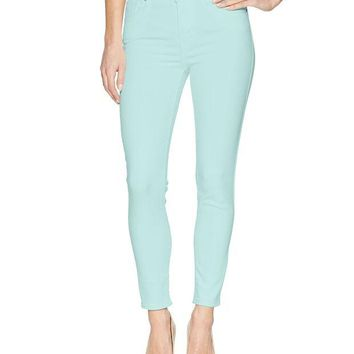 ONETOW Levi's Women's 721 High Rise Skinny Ankle Jeans, Soft Iced Aqua, 31 (US 12)