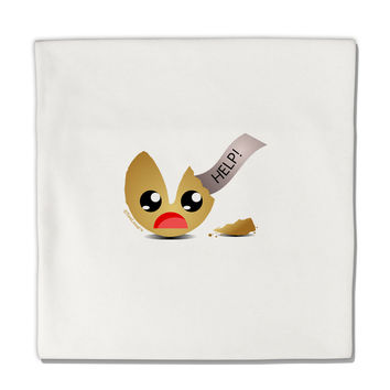 "Dismembered Fortune Cookie Micro Fleece 14""x14"" Pillow Sham"
