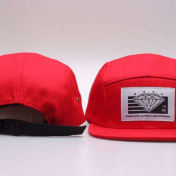 Diamond 5-Panel Hat