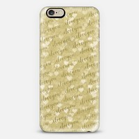 I Love You Gold iPhone 6 case by Tracey Coon   Casetify